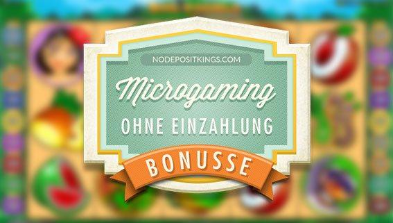 microgaming casinos ohne einzahlung