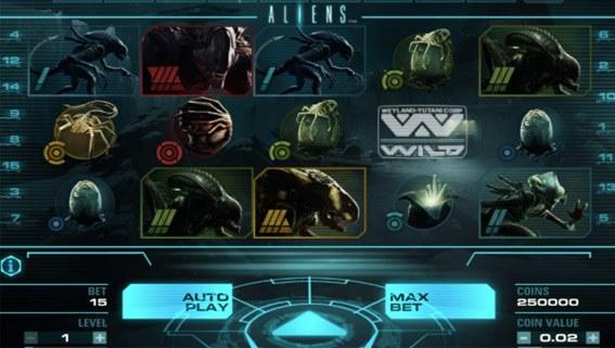 NetEnt Aliens Game