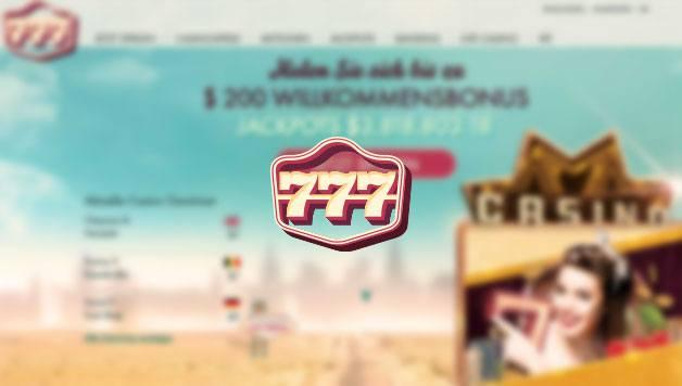 777 Casino Test