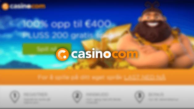 Casino.com Anmeldelse