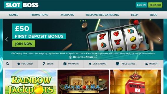 Slot Boss Casino