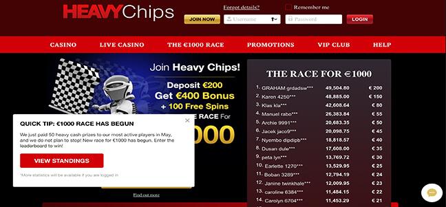 Heavy Chip Casino