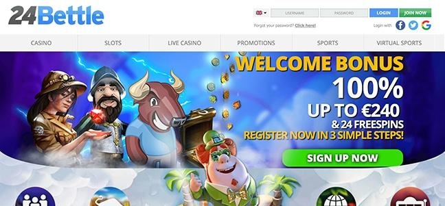 24Bettle Casino – No Deposit Bonus Offer