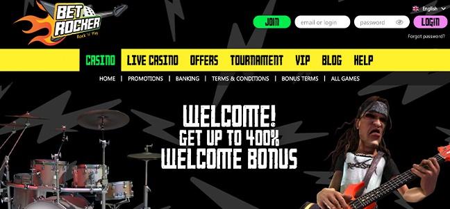 Betrocker Casino – No Deposit Bonus Offer