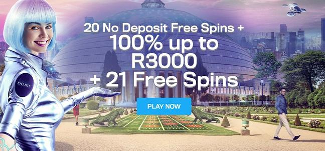 Casino Dome – No Deposit Bonus Offer