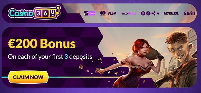 Casino360 – No Deposit Bonus Offer