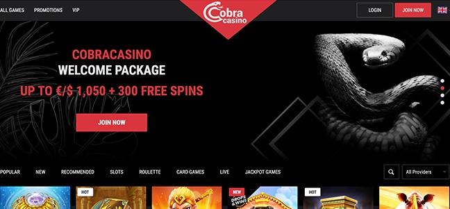 Cobra Casino – No Deposit Bonus Offer