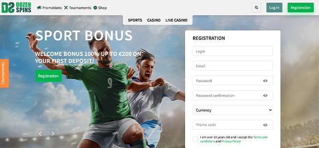 Dozenspins Casino – No Deposit Bonus Offer