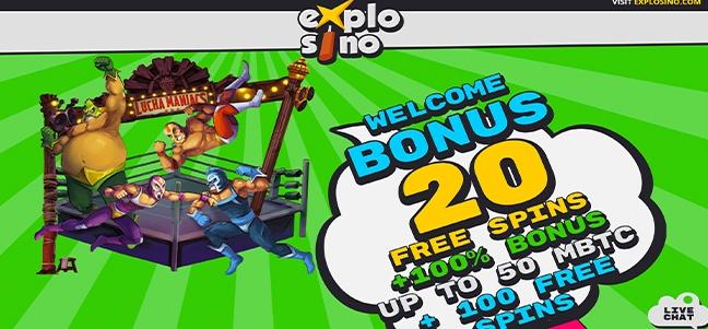 Explosino Casino – No Deposit Bonus Offer