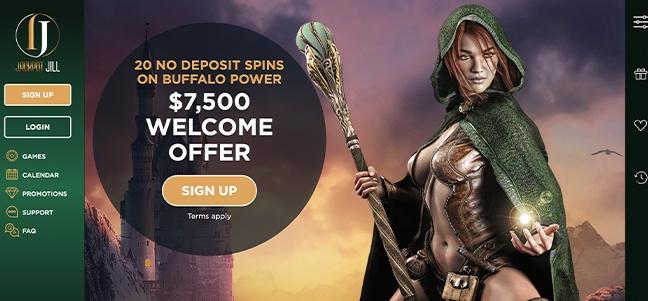 Jackpot Jill Casino – No Deposit Bonus Offer