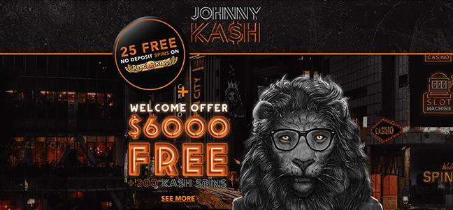 Johnny Kash Casino – No Deposit Bonus Offer