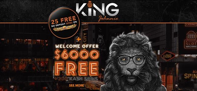 King Johnnie Casino – No Deposit Bonus Offer