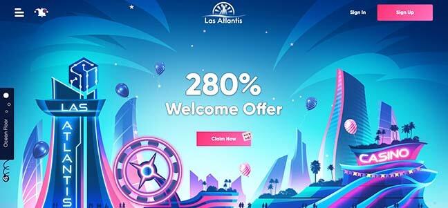 Las Atlantis Casino – No Deposit Bonus Offer