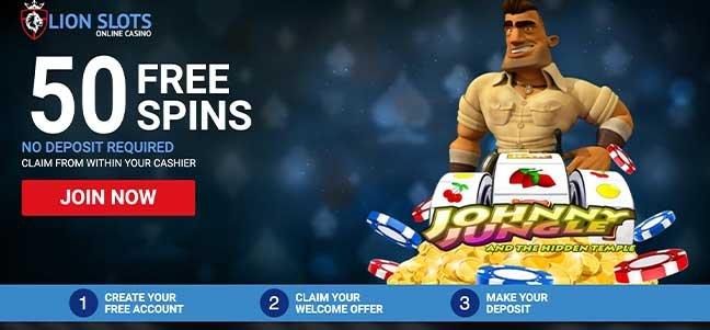 Lion Slots Casino – No Deposit Bonus Offer