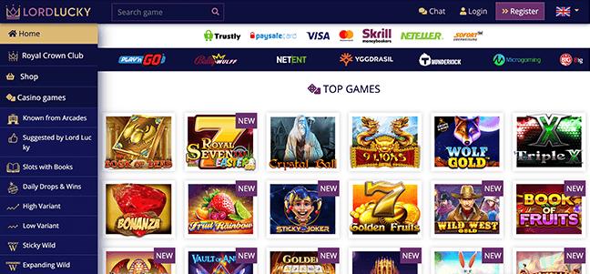 Lord Lucky Casino – No Deposit Bonus Offer