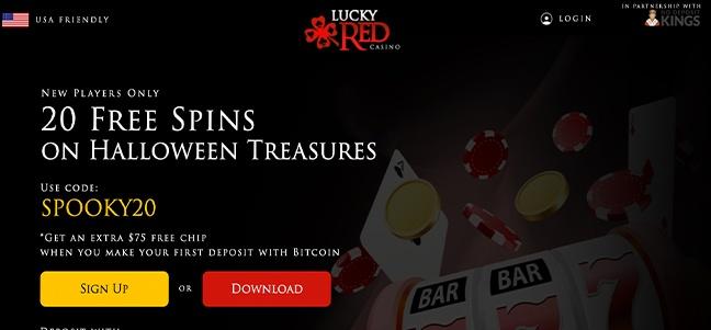 Lucky Red No Deposit Bonus 2021