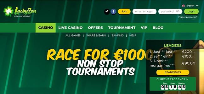 LuckyZon Casino – No Deposit Bonus Offer