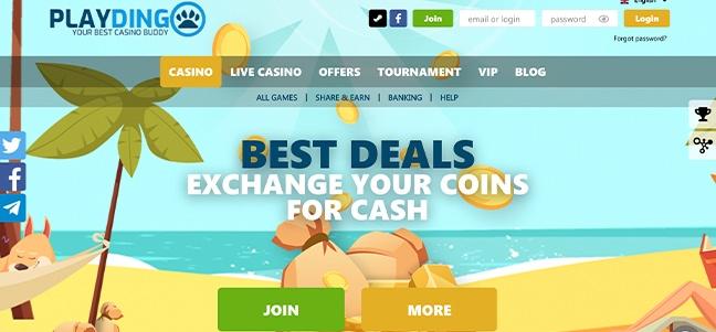 PlayDingo Casino – No Deposit Bonus Offer