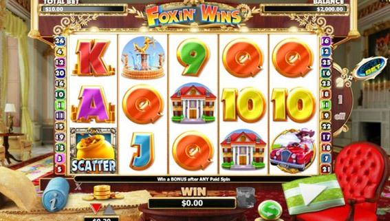 Foxin' Wins Game Screen