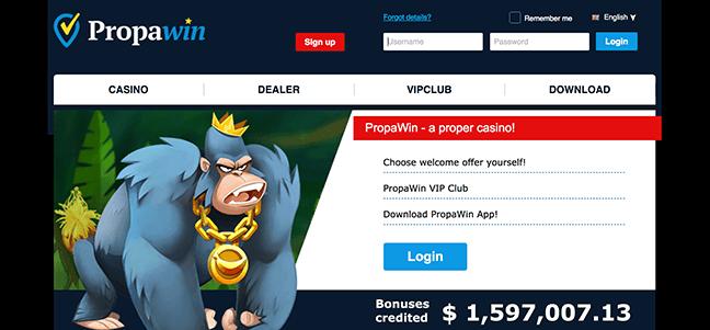 Image of PropaWin casino