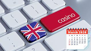 Top 5 United Kingdom No Deposit Bonuses in March 2020