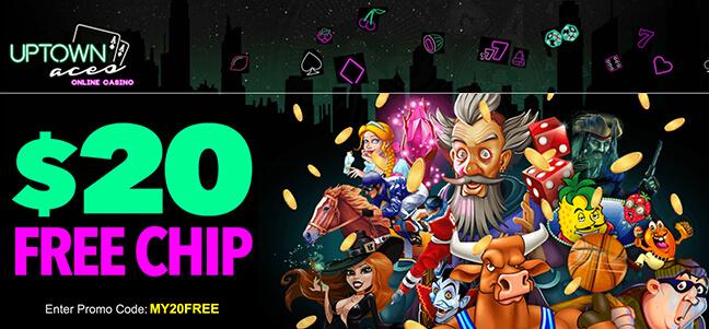 Uptown Aces Casino – No Deposit Bonus Offer